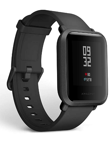 Best watch for hiking under 100 - Amazfit Bip Smartwatch by Huami - Bluetooth watch with Heart rate, sleeping & Activity Monitor