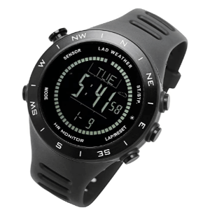 Lad Weather abc hiking watch under 200 with HR monitor climbing trekking