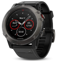 Best garmin hiking watch Garmin Fenix 5X Sapphire – Highly Accurate and Robust