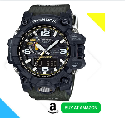 top rated G shock GWG-1000-1A3 for hiking