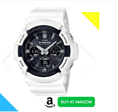 best water resistant and tough solar g shock for hiking GAW-100B-7AJF